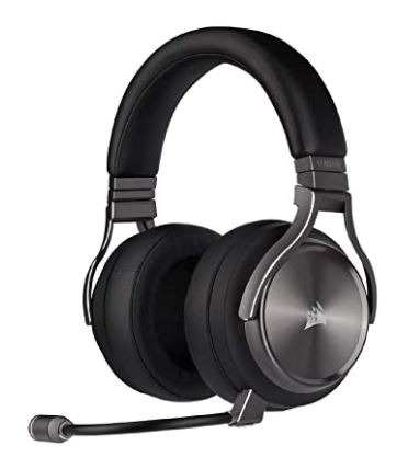 Corsair Virtuoso Wireless SE, Best Gaming Headsets with Good Microphones