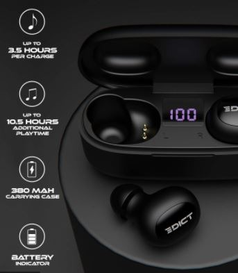 Edict DynaPulse ETWS01 Earbuds Launch Soon in India 2021